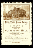 "[""Invite to the opening of Gothenburg Hall 24th September 1910""]"