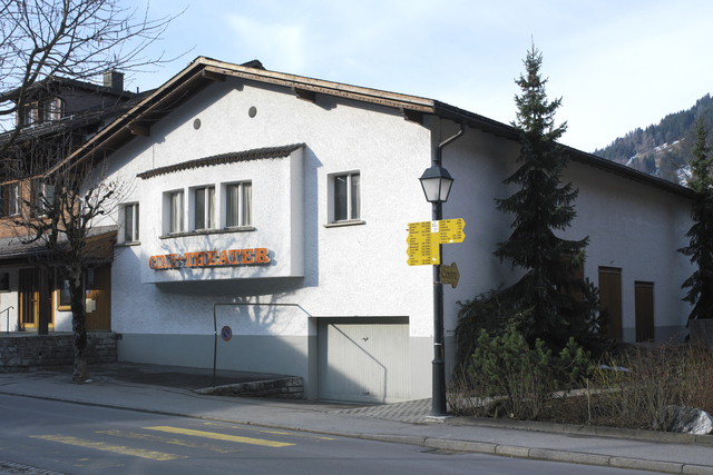 Outside view Ciné-Theater Gstaad