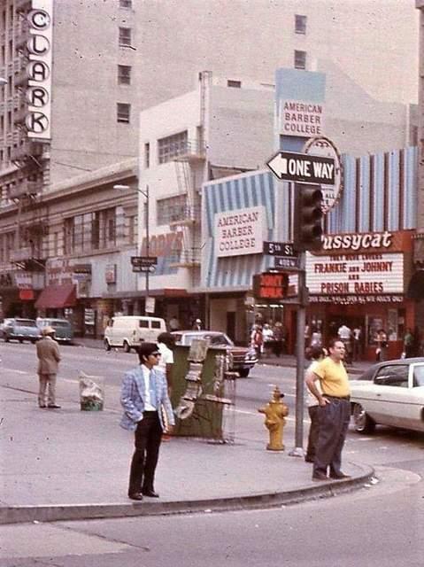 Circa 1973 photo credit Bill Gabel.