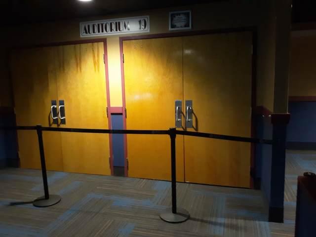 IMAX auditorium (during renovations)