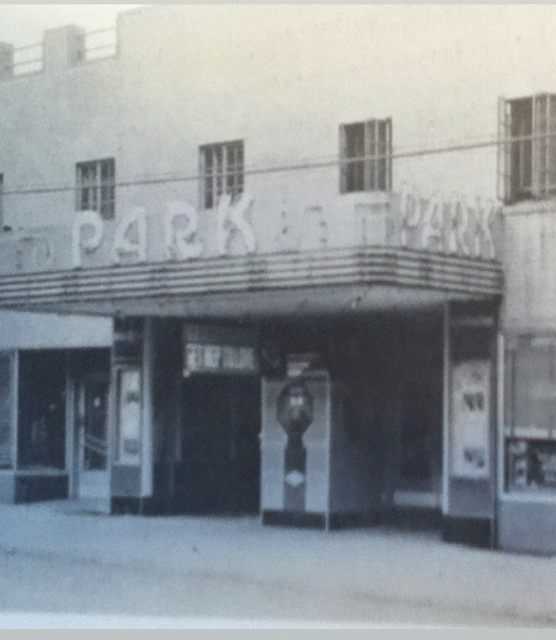 Park Theater marquee