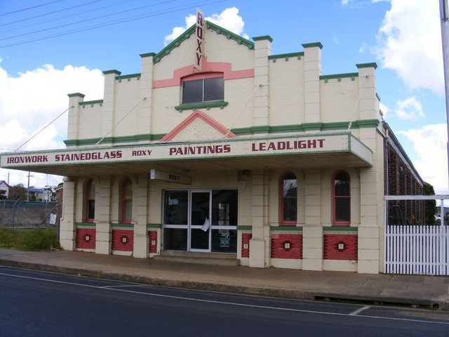 Roxy Theatre  117 Meade Street, Glen Innes, NSW  - With the advent of Television the Roxy closed in 1962.