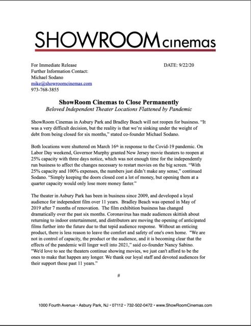 Showroom Cinema