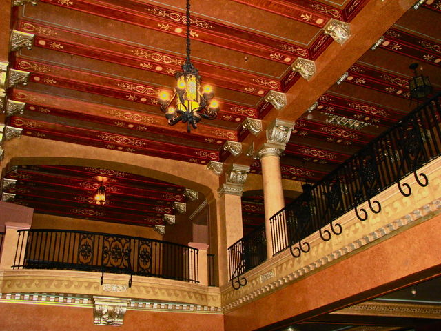 Jefferson Theatre Lobby.