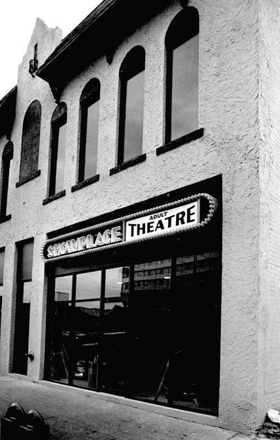 Showplace Adult Theatre 517 W. Main Street, Oklahoma City, OK..1980