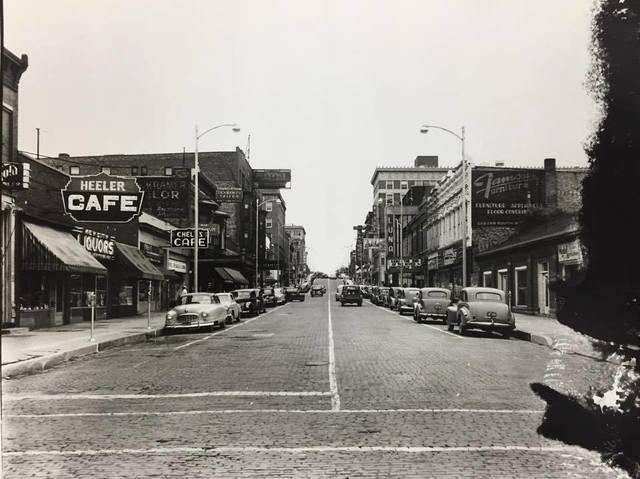 Circa 1950 photo credit Kankakee County Museum.
