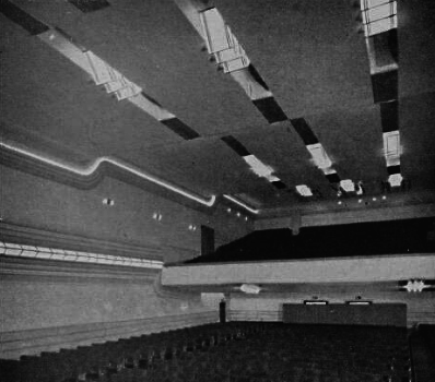 Kings Theatre Ashfield - from stage to biobox (top)