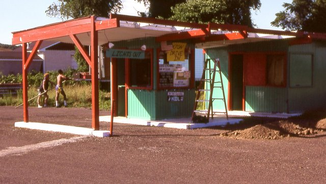 Exton Drive-In Box Office