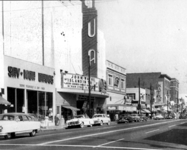 United Artists Theatre 1953