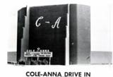 """[""""Cole-Anna Drive-In""""]"""