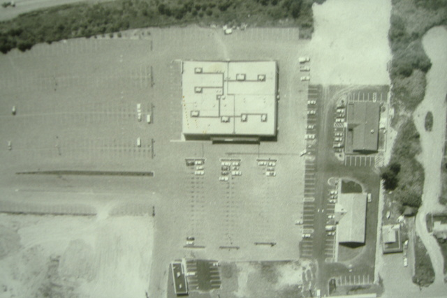 Aerial view of theater