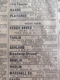 1926 print ad courtesy Monicka Montiel-macias. When it used the 18th Street address.