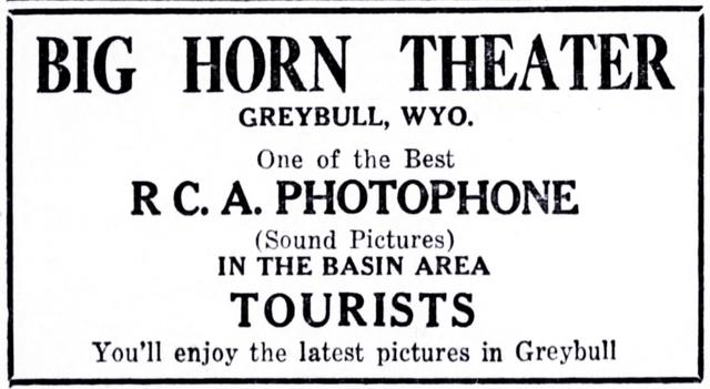 Greybull Theatre