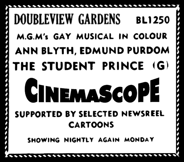 Doubleview Open Air Gardens, Muriel Avenue, Woodlands, WA – Opened 1954, later to become Acme Gardens in 1956 – Closed 1960.