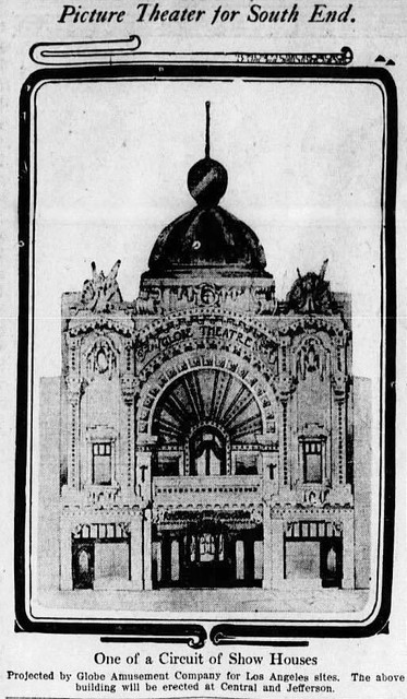 The Florence Mills Theatre when it opened in 1912 as the Globe.