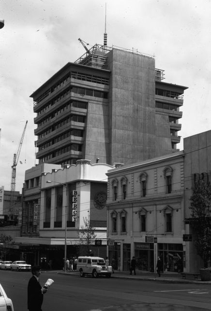 Hoyts Cinema Centre 140 Bourke Street, Melbourne, VIC – Construction 1968