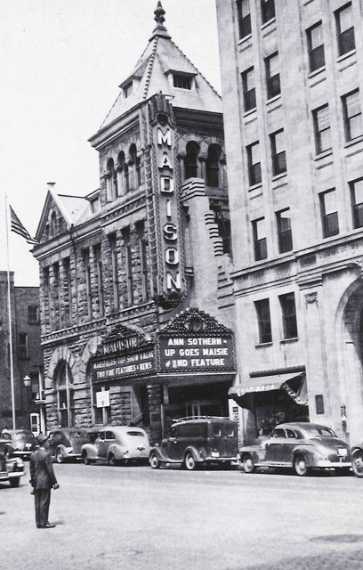 The Madison Theatre, Park Avenue West, Mansfield, OH