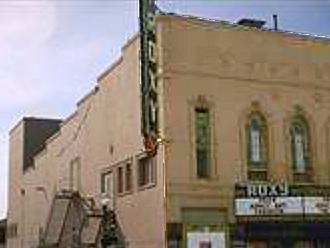 Roxy Theatre Santa Rosa. Originally opened as the Cline