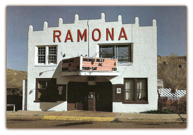 Ramona© Theater...Kremmling Colorado
