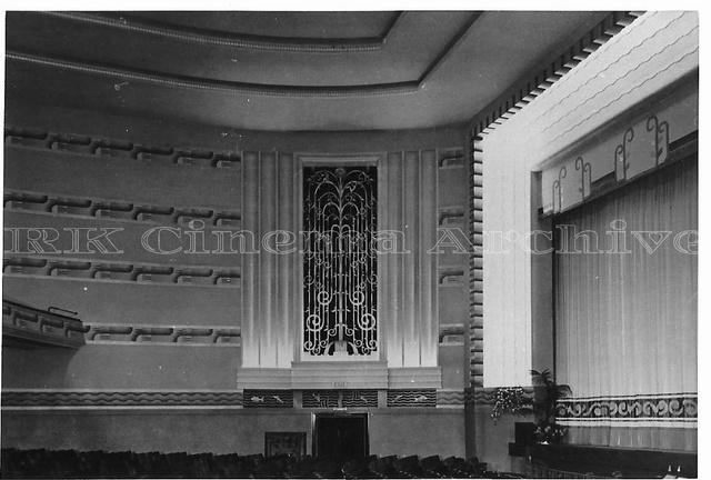 Heathway Cinema Auditorium splay wall