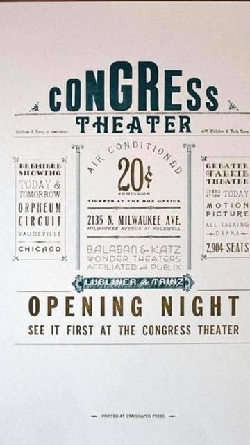 September 5, 1926 Grand Opening flier image courtesy Kurt F. Kojzarek.