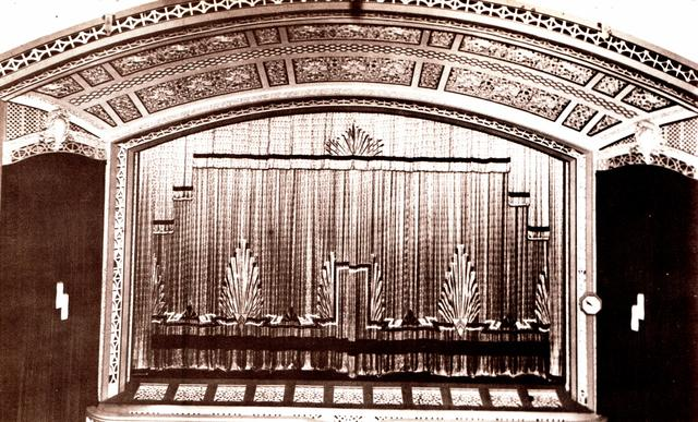 Winter Garden Theatre 189 Queen Street, Brisbane, QLD – 1930s, after the organ had been removed - Note - proscenium upgrade to Art Deco style.
