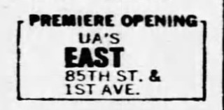 United Artists East 85th Street