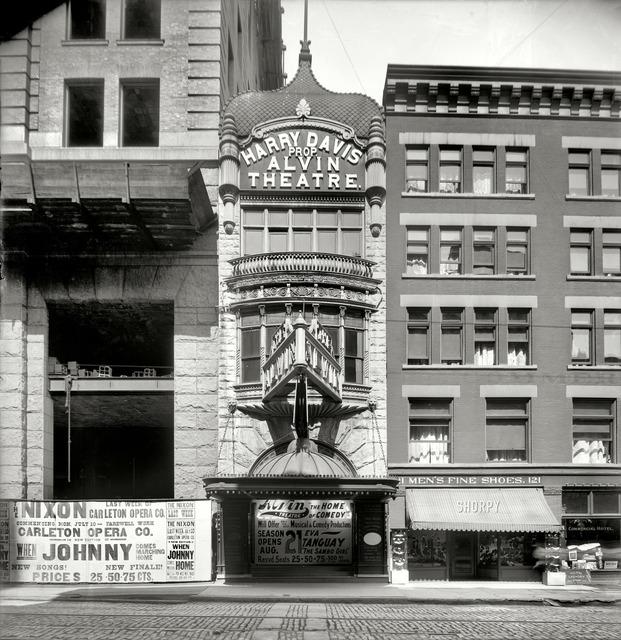 The Alvin Theater, 1905