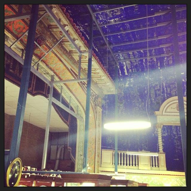 Plaza Theatre 167 Latrobe Terrace, Paddington, QLD – The proscenium today.