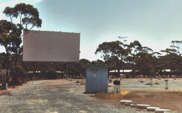 Kambalda Drive-In  Atriplex Road, Kambalda West, WA - 1981