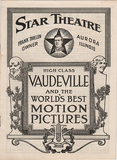 "[""Star Theatre, Aurora, IL Program""]"