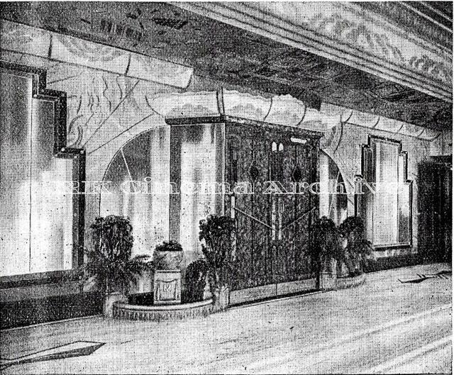 The Mascot Cinema Foyer 1932