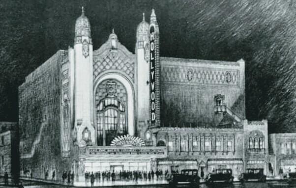 HOLLYWOOD Theatre; Detroit, Michigan.