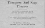"""[""""Thompson Theatre""""]"""