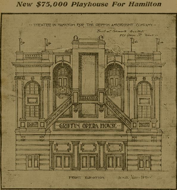 Griffin Opera House, Hamilton, Ont.