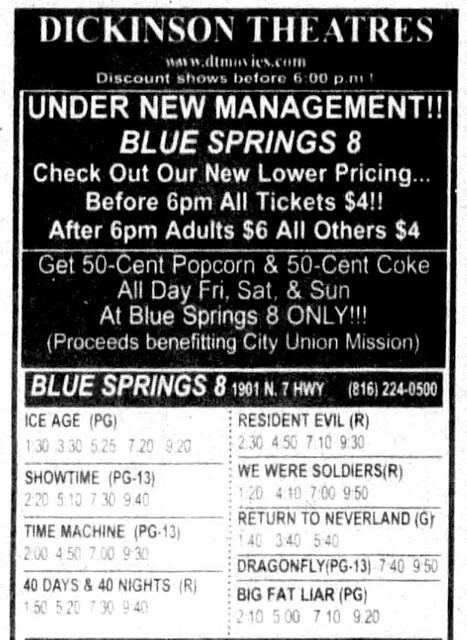 Blue Springs Cinema 8