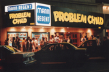 """Problem Child"" opening night at the Regent, 1990"