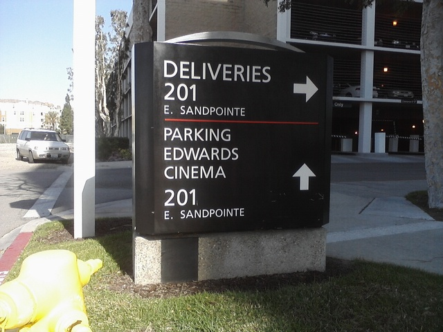 Edwards Theater Sign