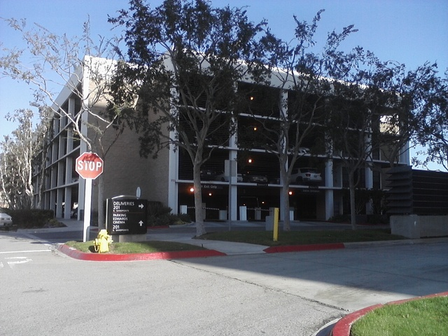 Hutton Center Edwards Theater Parking Structure