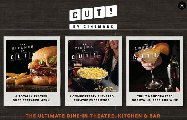CUT! by Cinemark Cypress