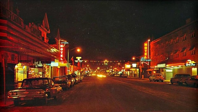 Capitol Theatre on left. Early `60s photo courtesy Brian Anthonisen.
