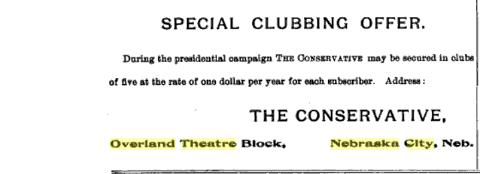 Overland Theatre