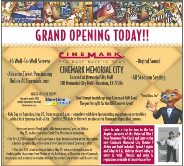 Cinemark Memorial City