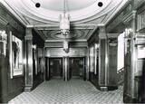 "[""METRO THEATER ( Later The Mayfair ) 167 Collins Street, Melbourne, Vic, Australia - Entrance to the stalls 1941.""]"