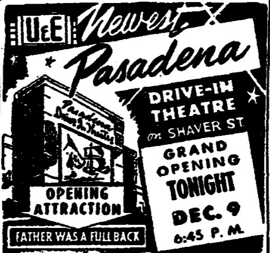 Pasadena Drive-In