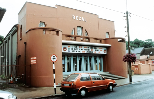 Now closed Regal Cinema, Youghal, Co. Cork, Ireland