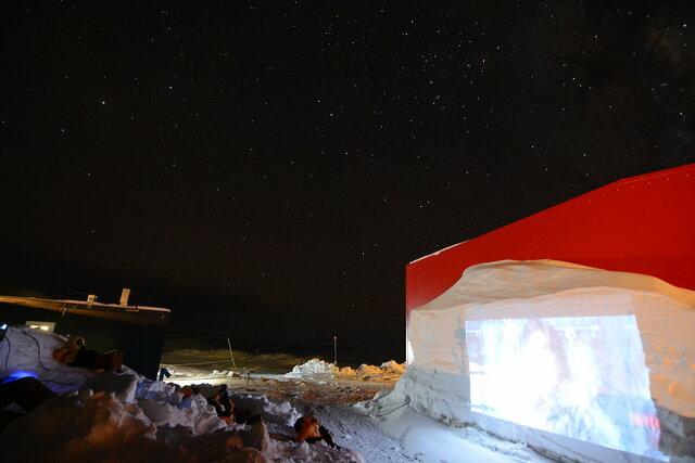 Outdoor Cinema  Casey Base, TAS