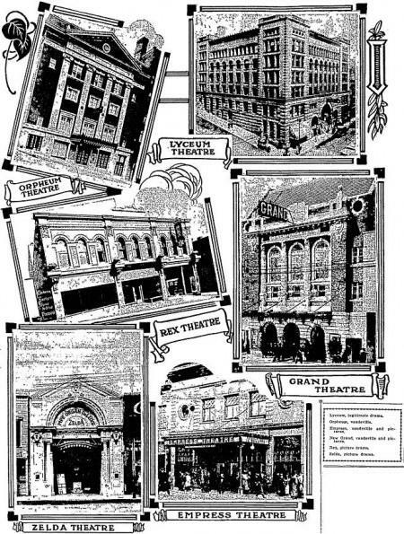 September 30, 1914 Duluth newspaper illustration courtesy John Michel.