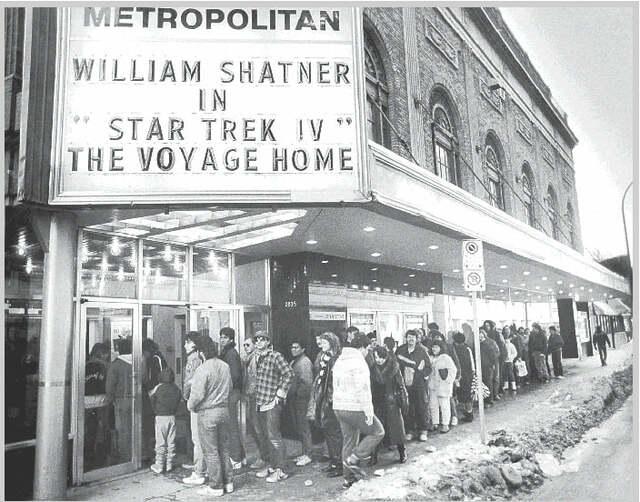 "November 26, 1986 opening of ""Star Trek IV: The Voyage Home"", photo credit Stepehn Leigh."