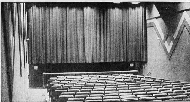 Auditorium photo courtesy Stephen Leigh.